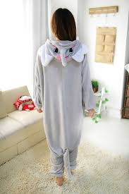 Elephant Halloween Costume Adults Amazon Grey Elephant Kigurumi Costumes Pajama Fit