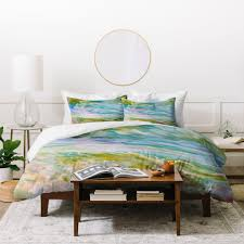 rosie brown reflections in watercolor duvet cover deny designs