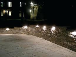 retaining wall lights under cap retaining wall light china waterproof lights lighting step decking