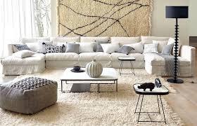 salon du canapé salon avec un canapé blanc 12 idées déco s inspirer joli place