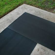 corrugated rib rubber runner mats the rubber flooring experts
