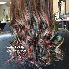 oil slick hair by jess soft tones that mimic spilled oil perfect
