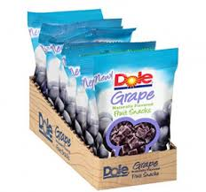 dole fruit snacks dole fruit snacks 3oz grape 8 pack just 7 73 shipped