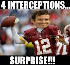 Romo Interception Meme - 22 meme internet 4 interceptions surprise kirk cousins