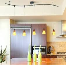 track pendant lights kitchen 3 light kitchen island pendant track lighting fixture tiered