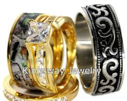 Camo Wedding Ring Sets by Camo Wedding Rings Etsy