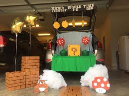 halloween light decoration ideas super mario bros trunk or treat 2015 fall pinterest super