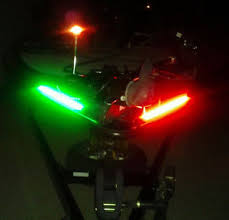 boat navigation light kit kayak canoe boat led strip kit lighting red green navigation lights