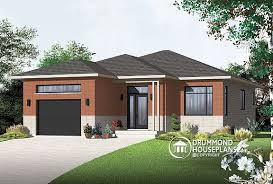 contemporary house plans single story plan of the week sleek contemporary single storey drummond