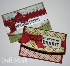 christmas gift card holders scrapbook com otros pinterest