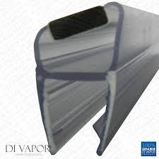 coram shower door spares shower door magnetic seal replacement 4 6mm 8mm 10mm glass