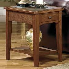 null furniture chairside table null furniture 4011 table group 4011 05 rectangular single drawer