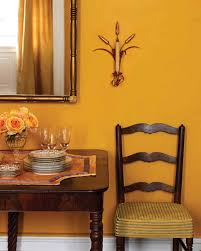 wall paint color yellow rooms martha stewart