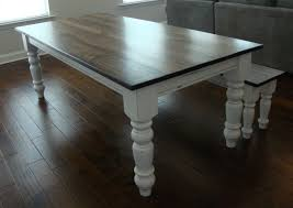 chunky farmhouse table legs classic chunky turned leg farm table elegant french country