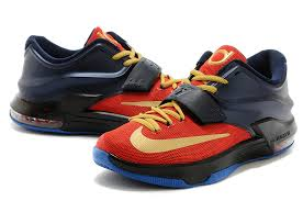 on sale nike kd 7 vii custom gold obsidian black
