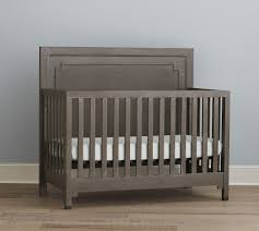 Gray Convertible Cribs by Dwell Studio Beckett Convertible Crib Washed Grey Kids N Cribs