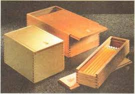 sliding lid boxes finger joints woodworking archive
