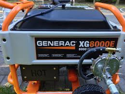 generac xg8000e portable generator conversion natural gas