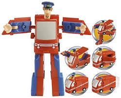 postman pat figure convertible van transformer toy gift