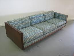 Sofa Mid Century Modern by Gorgeous Mid Century Modern Milo Baughman Style Walnut Case Sofa