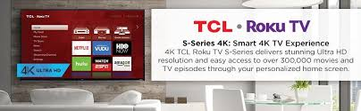 amazon black friday tcl amazon com tcl 55us5800 55 inch 4k ultra hd roku smart led tv