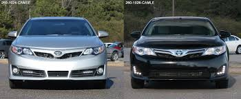 le led toyota camry se and le led daytime running lights by rostra