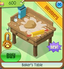 baker u0027s table animal jam wiki fandom powered by wikia