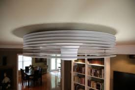 This Exhale Bladeless Ceiling Fan Is Inspired From Tesla