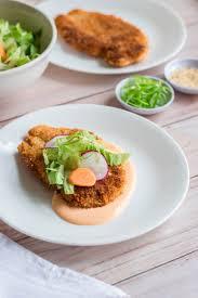 vegan sriracha mayo togarashi chicken cutlets with sriracha mayo brina u0027s bites