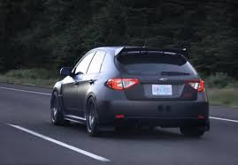 wrx subaru 2008 wing riser kit for 2008 14 wrx sti hatchback subie pinterest
