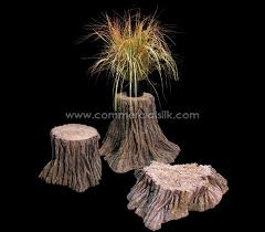 artificial tree stump tree stumps set commercial silk int l