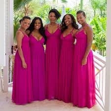 pink bridesmaid dresses hot pink real picture bridesmaids dresses uk cheap bridesmaid