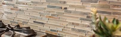 Manificent Simple Kitchen Backsplash Glass Tile And Stone Stone - Glass stone backsplash