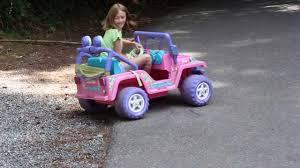 jeep barbie 12v to 18v conversion power wheels barbie jeep youtube
