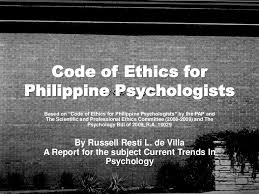 Counseling Code Of Ethics Philippines Codeofethicsforphilippinepsychologists 110627211224 Phpapp02 Thumbnail 4 Jpg Cb 1309209280