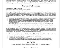 Technical Program Manager Resume Sample by Program Manager Resume Sample Program Manager Jesse Kendall