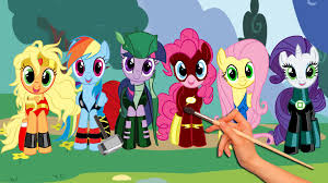 my little pony friendship is magic drawing u0026 coloring super
