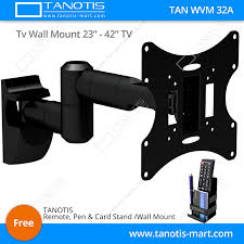 Lcd Tv Wall Mount Stand Buy Tanotis Imported 6 Way Swivel Tilt Tv Wall Mount For Lcd Led