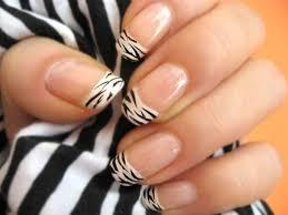 zebra pattern nail art stylish animal print nail art designs trends