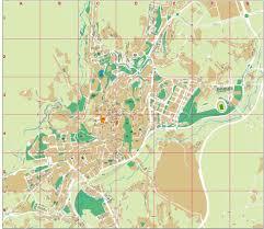Vigo Spain Map by