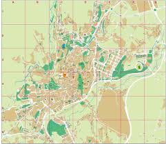 Tarragona Spain Map by