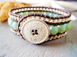beaded leather cuff bracelet images 101 best 3 row beaded cuff bracelet images beaded jpg