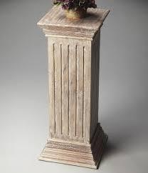 Greek Pedestal Butler Grecian Pedestal Plant Stand Plant Stands At Hayneedle