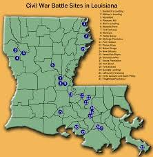 New Orleans Louisiana Map by Infomaniac U0027s Louisiana Civil War Map