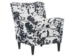 Black And White Accent Chair Slumberland Cora Collection Cream Cow Print Accent Chair