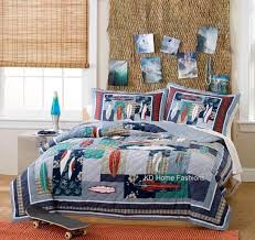 Surfing Bedding Sets Surfing Surf Board Usa Hawaiian Boy Bedding Set