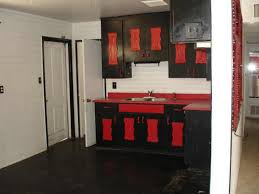 Red Kitchen Cabinets Amazing Value Of Red Kitchen Cabinets My Home Design Journey