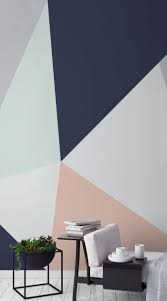 modernise your home with these cutting edge geometric wallpaper