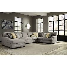 Livingroom Sectionals Benchcraft Cresson Contemporary 4 Piece Sectional With Chaise