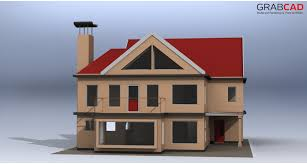 Solidworks Home Design Dream House Finished Model Solidworks Step Iges 3d Cad